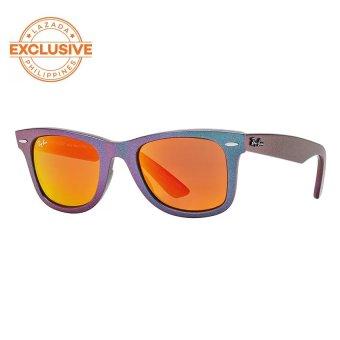 Ray-Ban Original Wayfarer Cosmo  Orange Flash Sunglasses RB2140 611169   (50-22)
