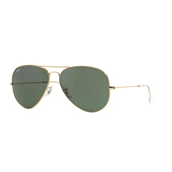 Ray-Ban Sunglasses Aviator Large Metal Ii RB3026 - Arista (L2846) Size 62 Crystal Green