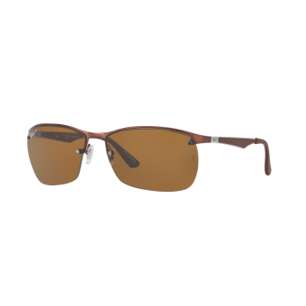 Ray-Ban Sunglasses - RB3550 - Matte Dark Brown (012/83) Size 64Polar Brown Price Philippines
