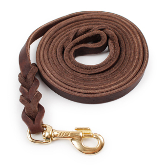 Real Leather Solid Adjustable Dog Walking Training Leash 300cm Price Philippines