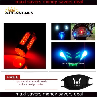 Red Motorcycle / Car LED Parking Lights for XRm125 DSX