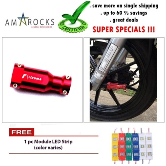 Red Motorcycle Scooter Bike Speed Cable Cover Universal Compatible for Beat 110 Fi (Standard) New