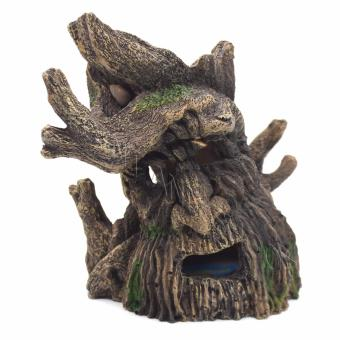 Resin Aerated Tree Monster for Aquarium / Fish Tanks Decorations(14x8x13cm) Price Philippines