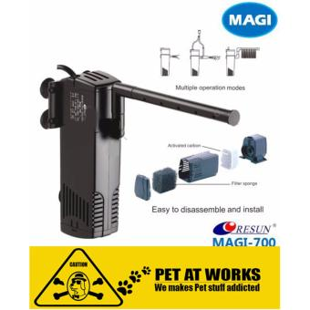 Resun Magic Jet Filter (Magi 700) Internal Filter for Fish TankAquarium, Planted Tank, Marine Tank, Salt Water Tank