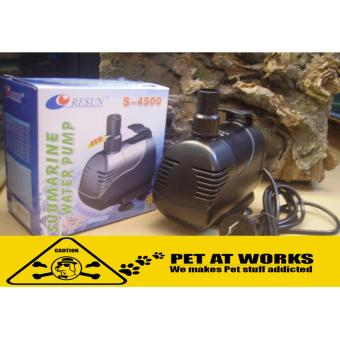 Resun Submarine Water Pump 110W (S4500) For Fish Pond, Fish TankAquarium, Salt Water Tank, Marine Tank, Planted Tank