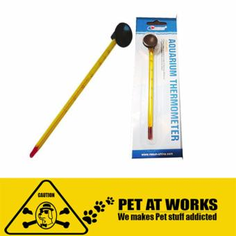 Resun Thermometer Analog (Yellow) For Fish Tank Aquarium, PlantedTank, Marine Tank and Salt Water Tank
