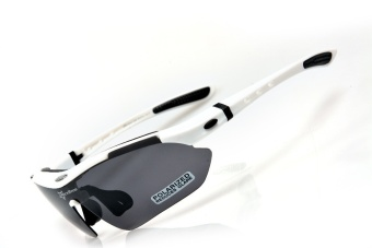 ROCKBROS Polarized Sports Men Sunglasses Road Cycling Glasses Mountain Bike Bicycle Riding Protection Goggles Eyewear -