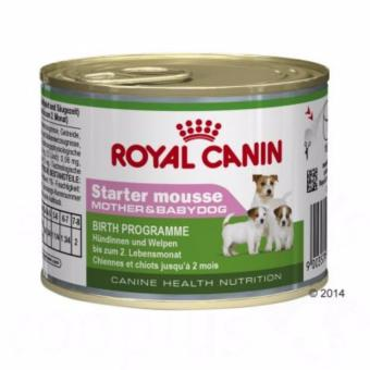 Royal canin Starter Mousse Can 195G (6 cans)