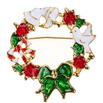 S & F Fashion Christmas Brooch 5 - Intl - picture 2