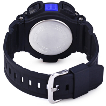S-Shock Men's Blue/Black Rubber Strap Watch SKM-0939 - 4