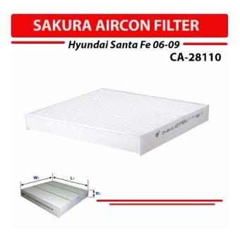 Sakura Aircon Filter for Hyundai Santa Fe 2006-2009