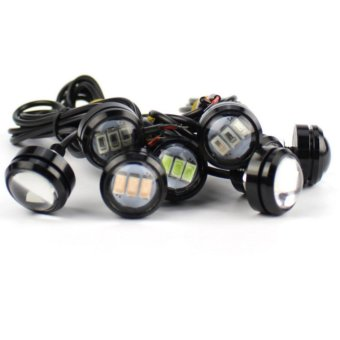 S&L Eagle Eye 3Led White With Free Motorcycle Switch On/Off
