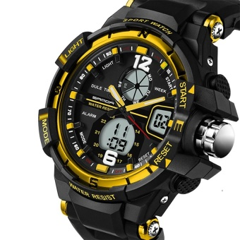 SANDA 289 Fashion Multifunctional Outdoor Sports Men Electronic Watch - intl