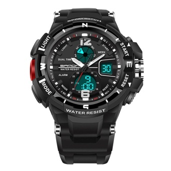 SANDA 789 Fashion Student Outdoor Sports Waterproof Electronic Watch - intl