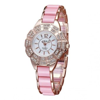 Sbao Diamond Dial Type Stainless Watch (Pink) Price Philippines