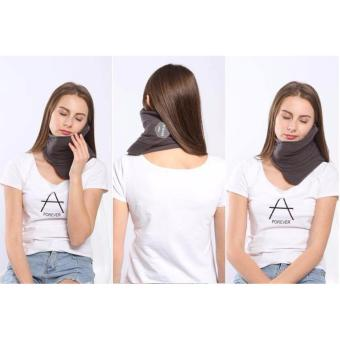 Scientifically Proven Travel Support Neck Pillow Grey TRTL