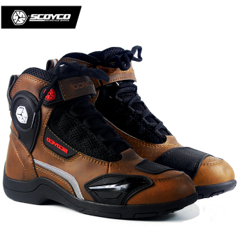 Scoyco KNIGHT race car equipment riding short boots shoes