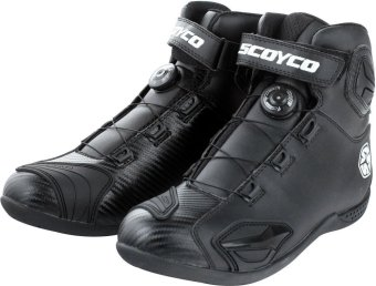 Scoyco(R) MBT-Series MBT-010 Motorcycle International Boots Touring& Racing (Black) (Size 44)