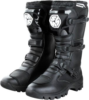 Scoyco(R) MBT-Series MBT-012 Motorcycle International Boots Touring& Racing (Black) (Size 41) Price Philippines