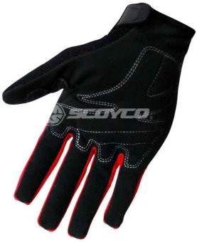 Scoyco(R) MC-Series MC24 Motorcycle Gloves w/ Knuckle Touring & Racing (Red) (XL)