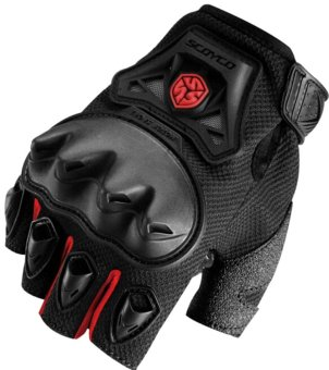Scoyco(R) MC-Series MC29D Motorcycle Gloves w/ Knuckle Touring &Racing (Red) (XL) Price Philippines