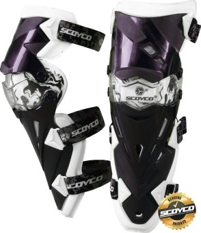 Scoyco Premium Gears K-Series K12 Motorcycle Knee Pads &Protector Guards Protector (White) Price Philippines