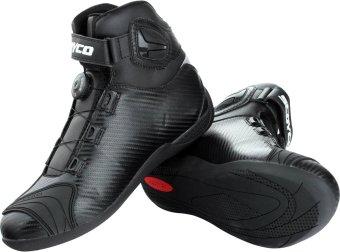Scoyco Premium Gears MBT-Series MBT-010 Carbon Fiber A-Top TouringMotorcycle Racing Riding Gear Boots (Black) - 3