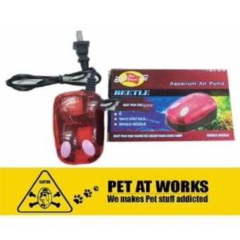 Sea Quest Aquarium Air Pump Beetle 2W For Fish Aquarium Tank,Marine Tank, Salt Water Tank and Planted Tank