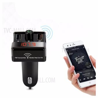 SeanSean A7 Bluetooth Hands-free Car Kit MP3 Player FM Transmitter Dual USB Car Charger