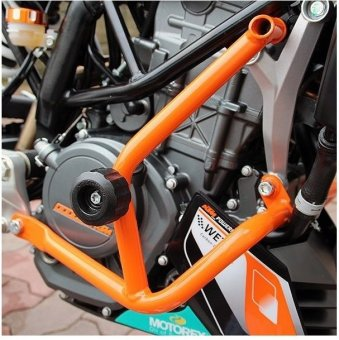 Sec 00696 Crash Bar Set for KTM Duke 390 - 4