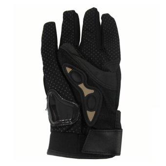 SEC 00789 Motorcycle Black Whole Finger Gloves - 3