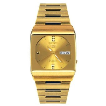 Seiko 5 Automatic Women's Gold Stainless Steel Watch SNY008J1 - intl