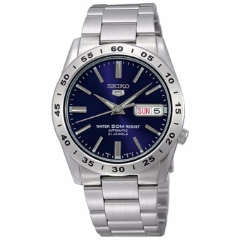 Seiko 5 Blue Dial Stainless Steel Automatic Men's Watch SNKD99K1