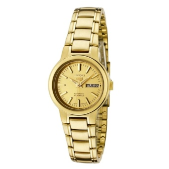 Seiko 5 Gold Dial Watch(SYME46K1) - intl Price Philippines