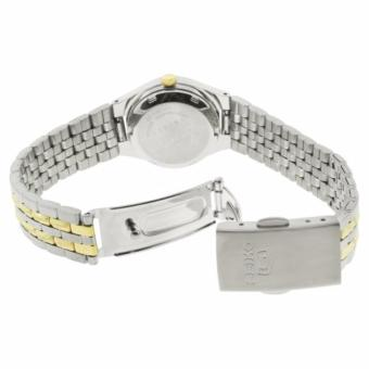 Seiko 5 Ladies Dual Tone Stainless Steel Automatic Watch SYM798 - 4