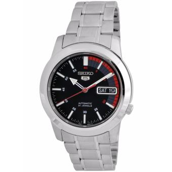 Seiko 5 Red Speed Stainless Steel Automatic Men's Watch SNKK31K1