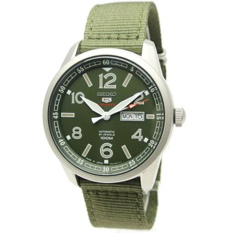 Seiko 5 Sports Men's Automatic Nylon Band Watch 100M W/R - (Made in Japan) - SRP621J1 - Int'L - intl