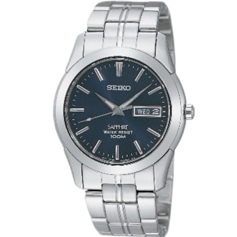 Seiko Conceptual Men's Silver Stainless Steel Strap Watch SGG717P1S