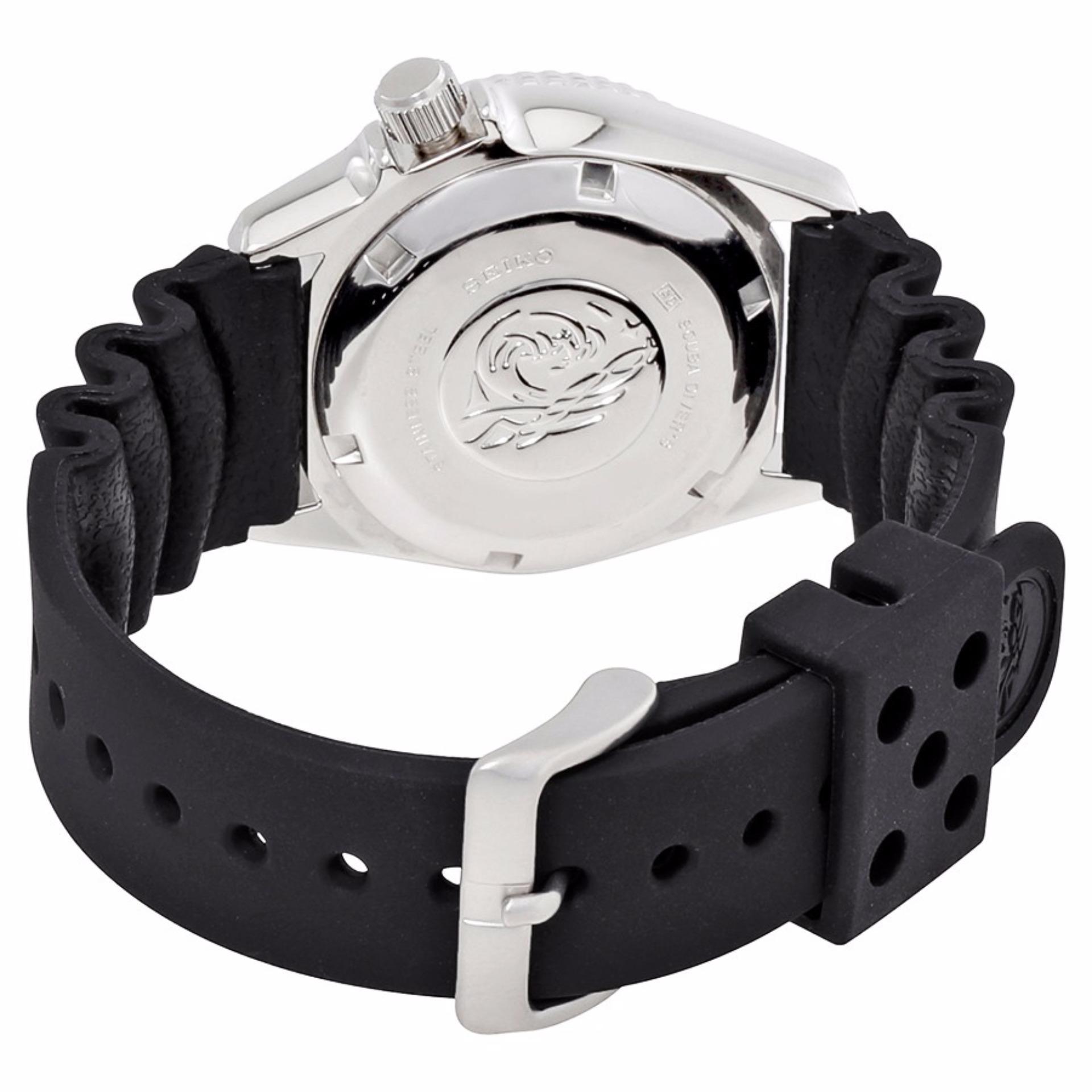 Philippines Seiko Divers Medium Size Junior 200m Black Skx007k2 Automatic Dial Rubber Strap