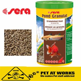 Sera Pond Granulated Food (1000ml) For Pets Fish Food,all pond fishand gold fish and koi