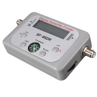 SF-95DR Digital Satellite Signal Meter Finder Dishnetwork DirecTV FTA w/ Compass - intl - 5