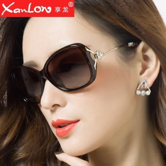 SHININGSTAR Shishang female polarized female sun glasses New style sunglasses