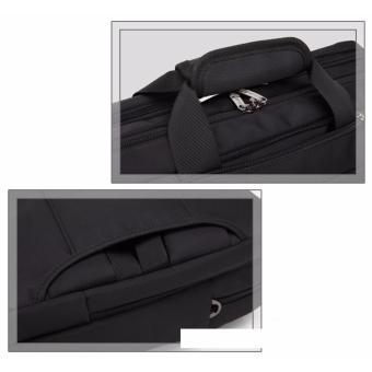 Shockproof computer bag laptop messenger handbag 17.3'' black - 3