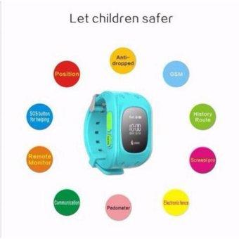 Shpsammall-Kids Safe GPS/GSM Watch Wristwatch SOS Call Anti LostSmartwatch For Kids - intl - 3