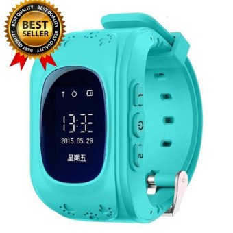 Shpsammall-Kids Safe GPS/GSM Watch Wristwatch SOS Call Anti LostSmartwatch For Kids - intl
