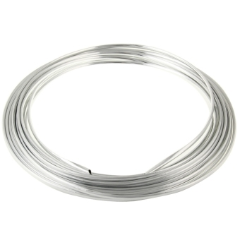 Silver Car Auto Truck Door Edge Guard Trim Molding Protector Strip, Length: 15m