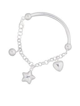 Silver First 925 Silver Ladies Bracelet H137