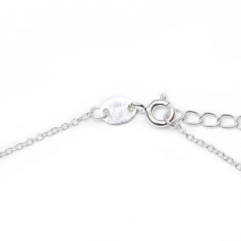 Silverworks N3926 Heart with Key and Lock Design Necklace - 5
