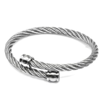 Silverworks X3286 Twisted Bangle