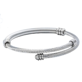 Silverworks X3615 Twisted Bangle